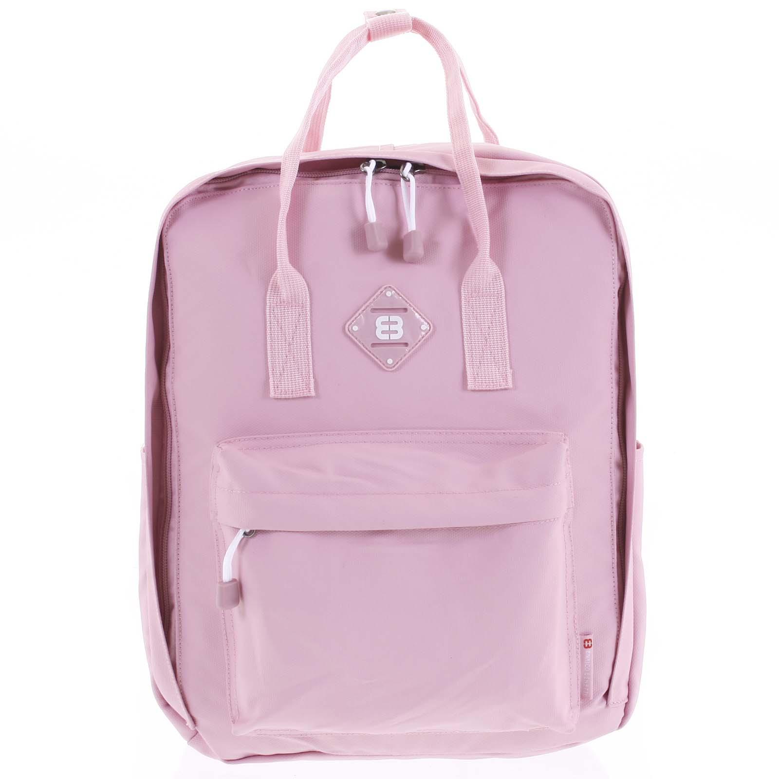 Voděodolný batoh růžový - Enrico Benetti Vickey
