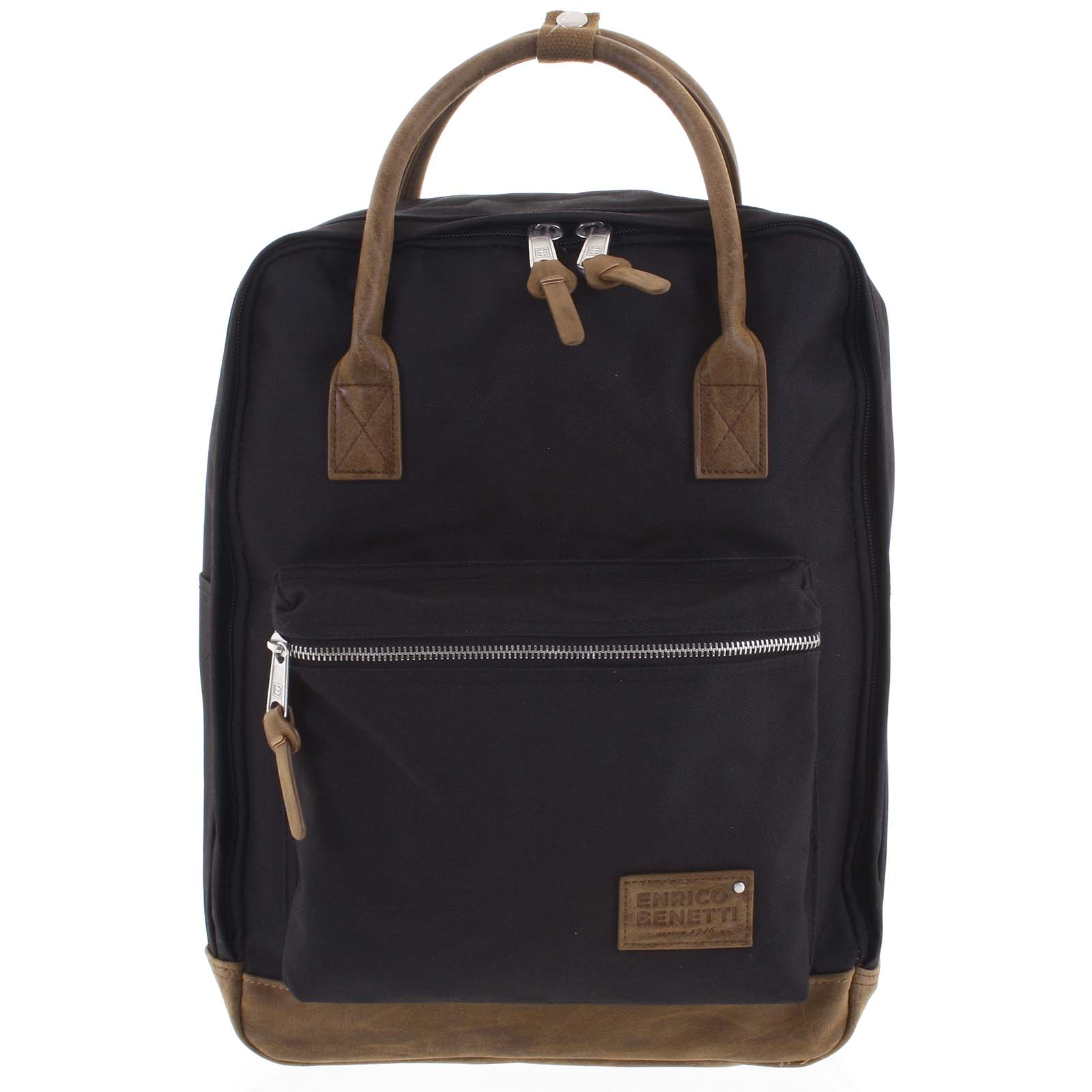 Pánský stylový batoh černý - Enrico Benetti Lefl