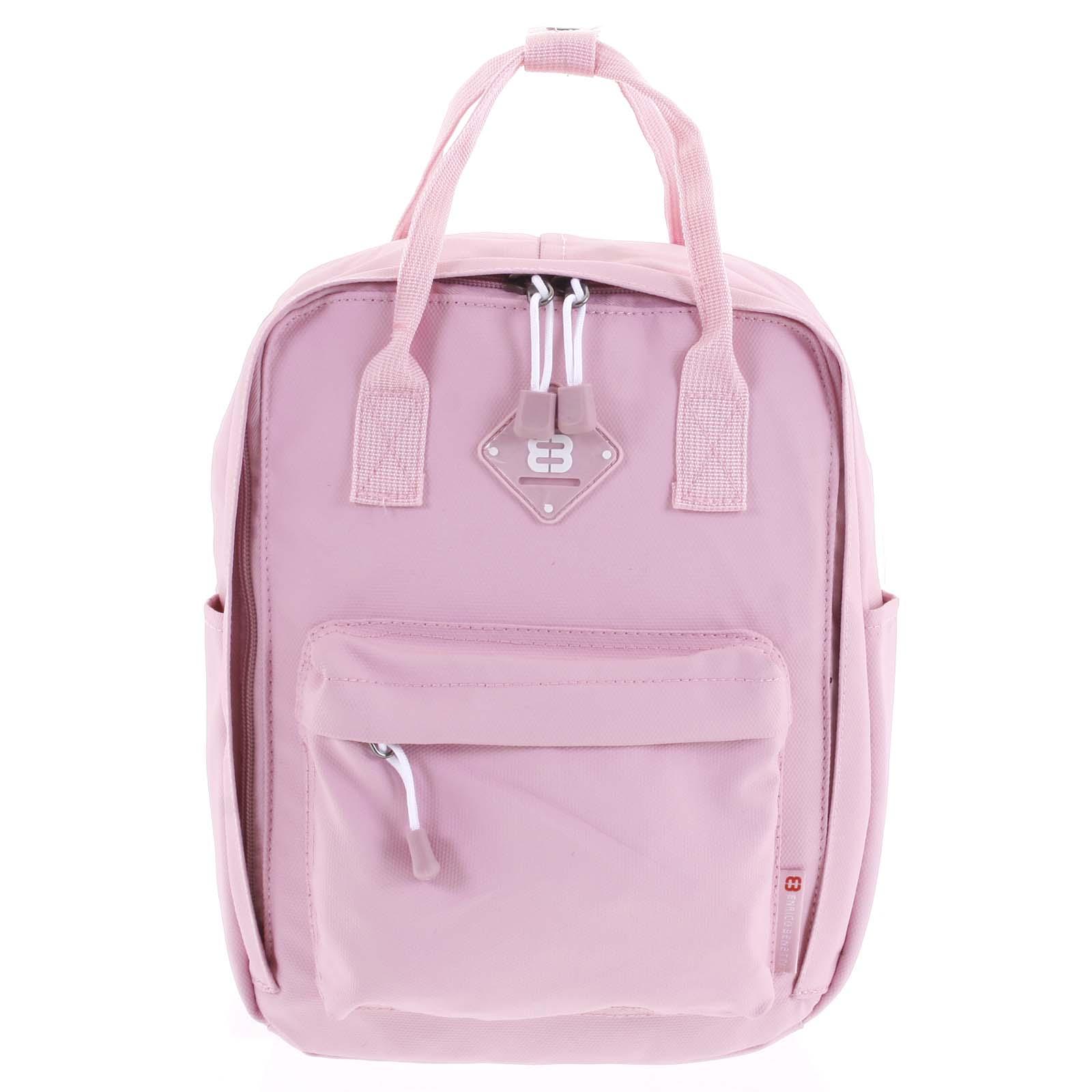 Malý dámský městský batoh růžový - Enrico Benetti Mickey