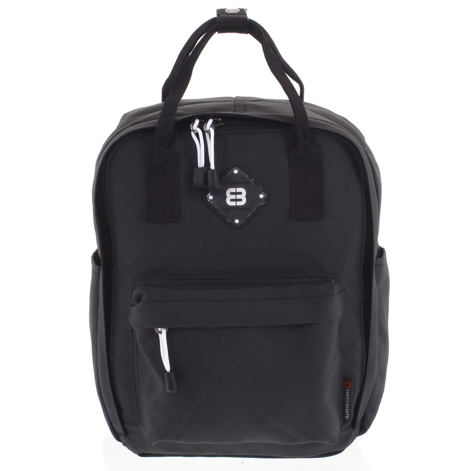Malý dámský městský batoh černý - Enrico Benetti Mickey