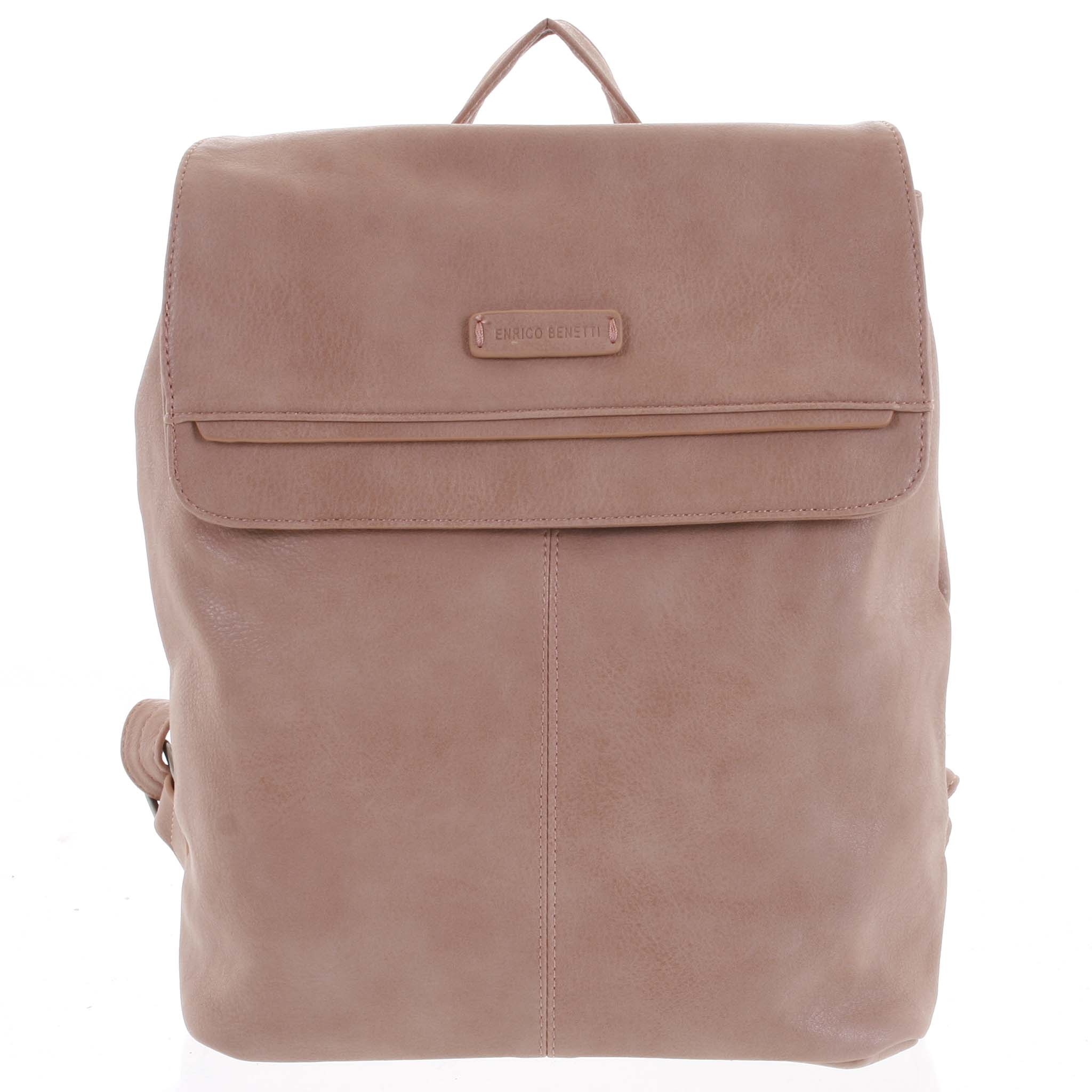 Dámský stylový batoh růžový - Enrico Benetti Neneke