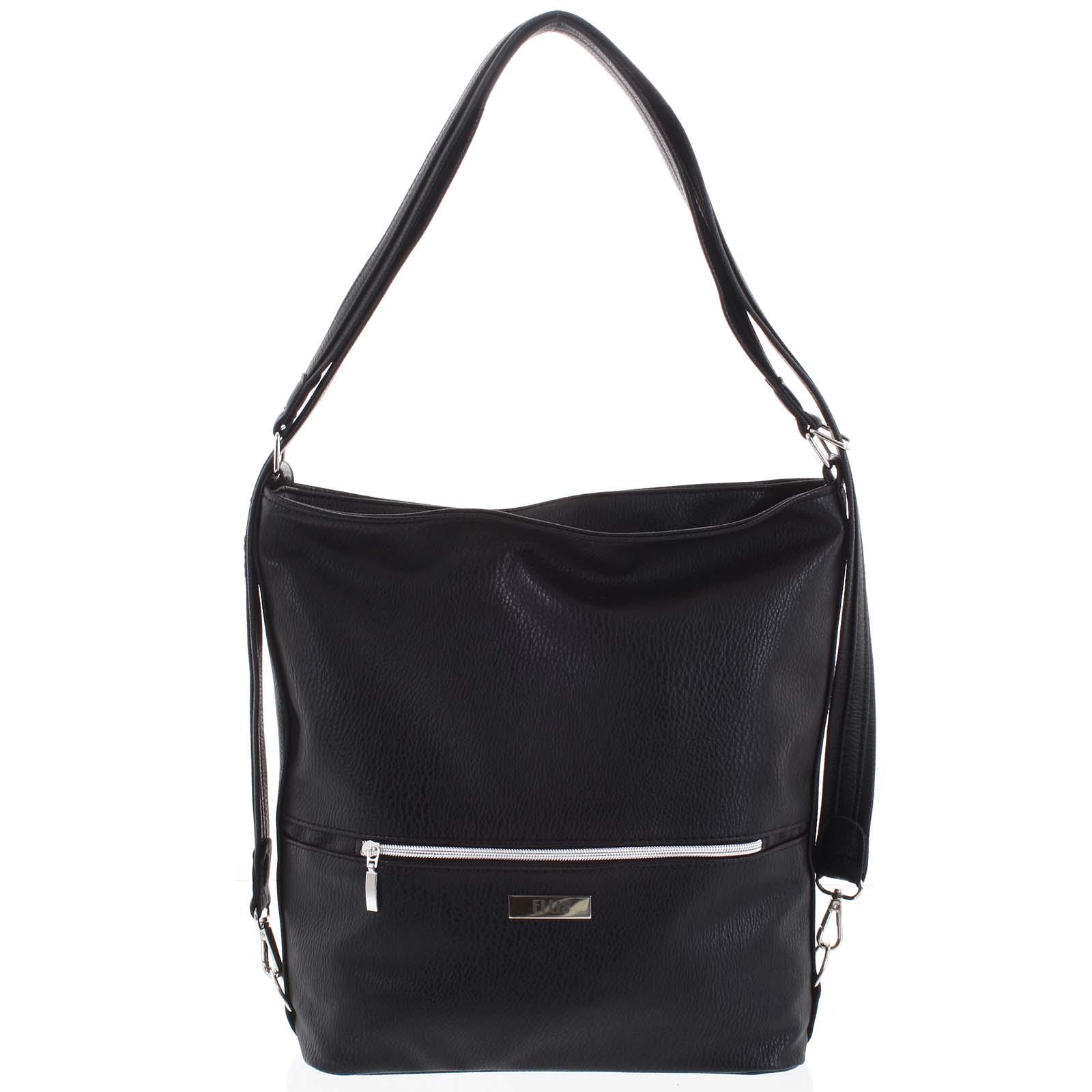 Módní dámská kabelka batoh černá - Ellis Patrik