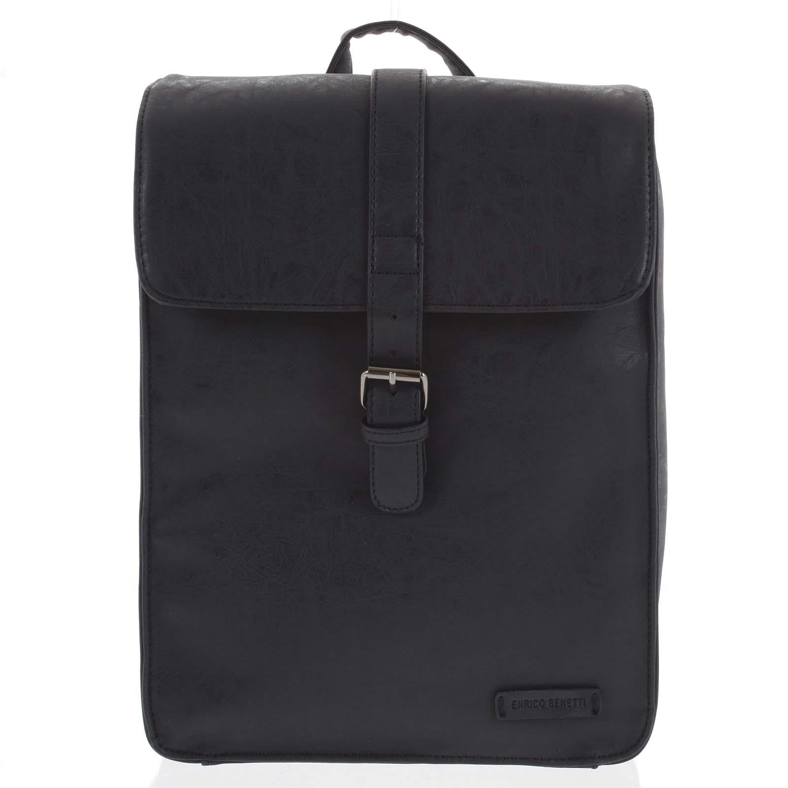 Stylový batoh černý - Enrico Benetti Steffani