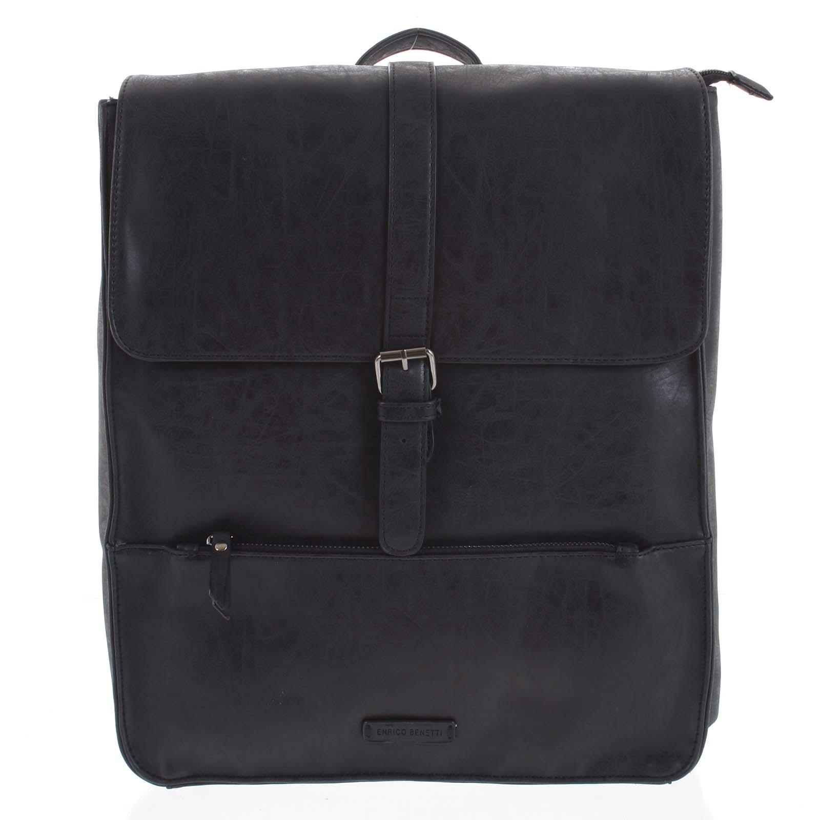 Pánský batoh černý - Enrico Benetti Kaarlo