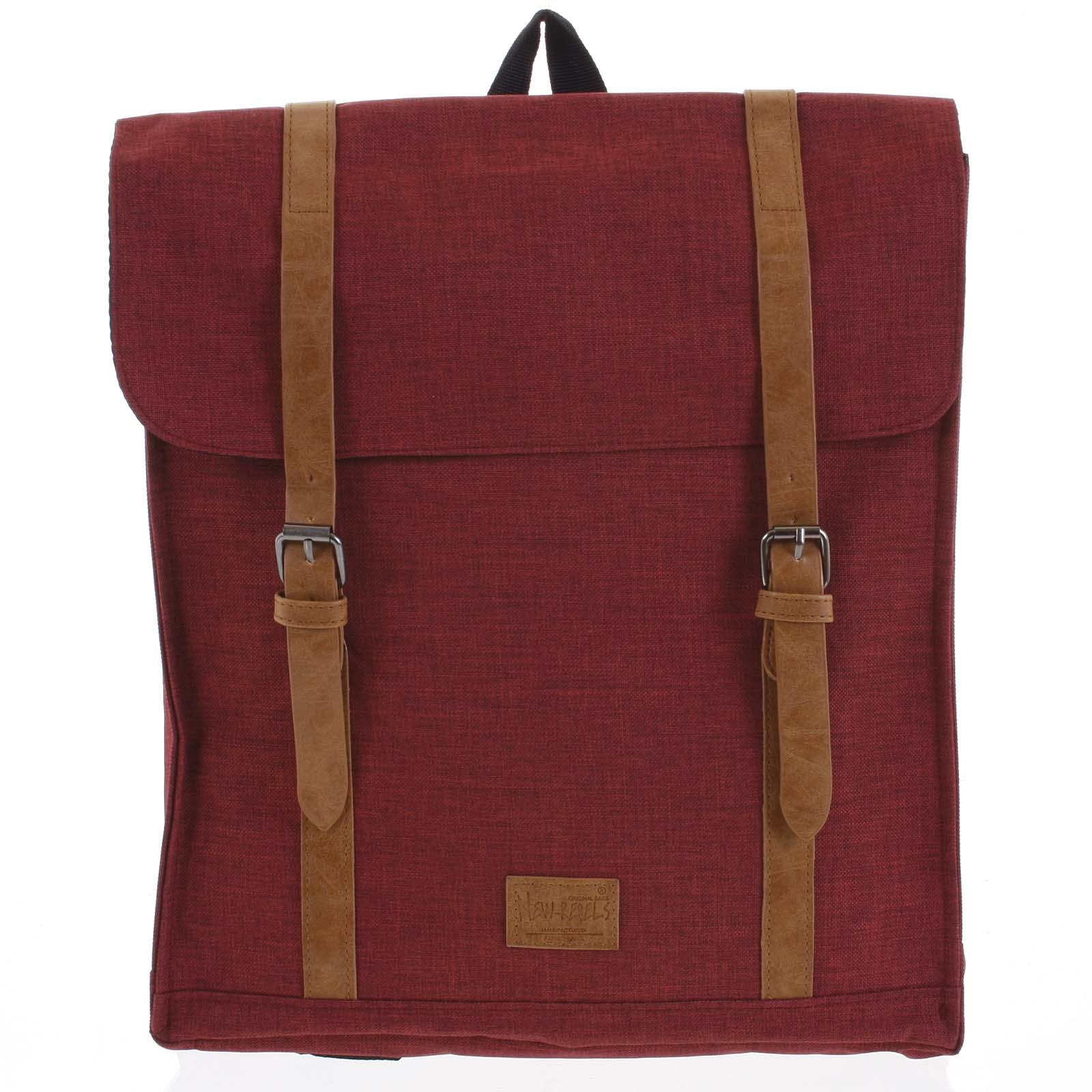 Městský batoh červený - New Rebels Gunner