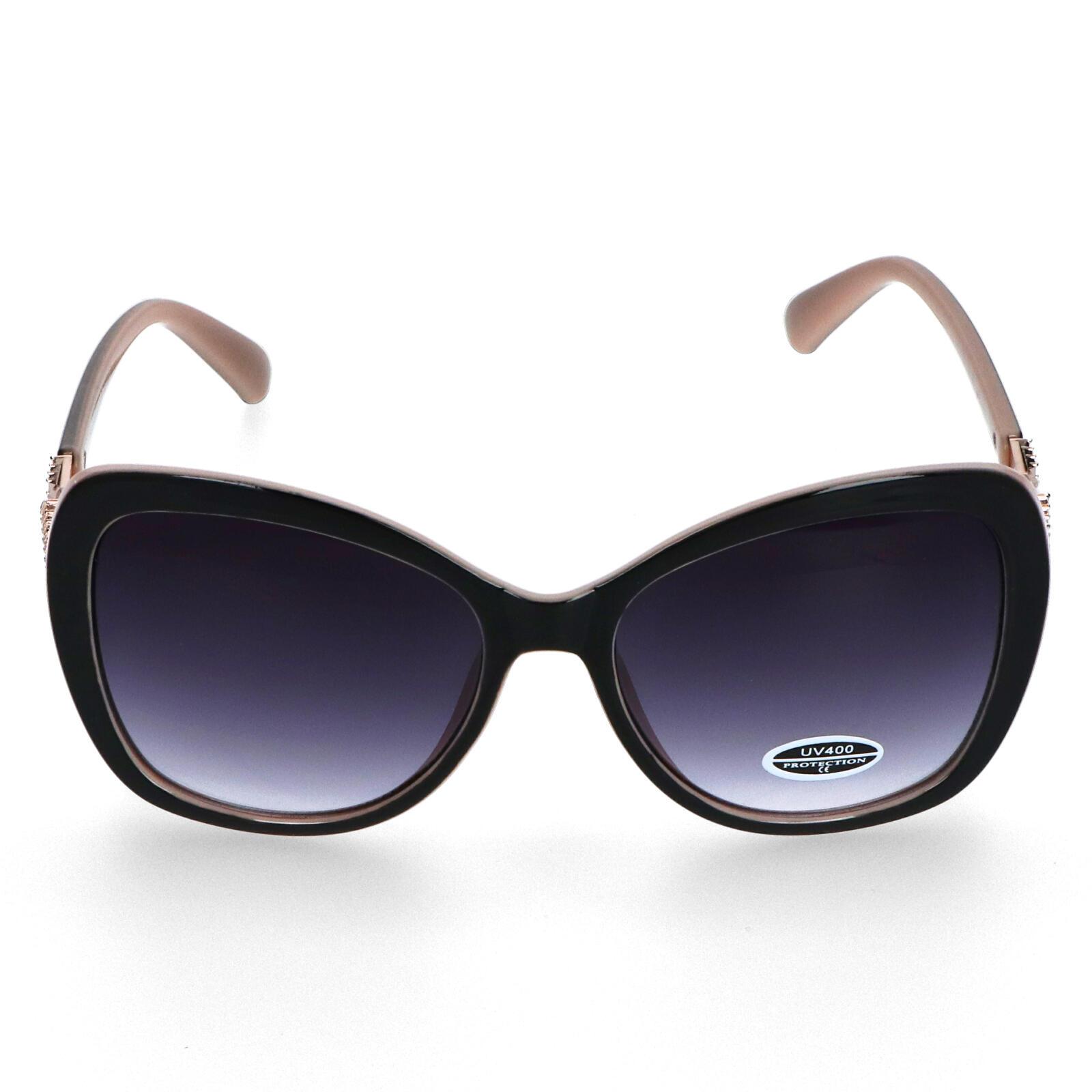 Dámské sluneční brýle krémově růžové - S8111