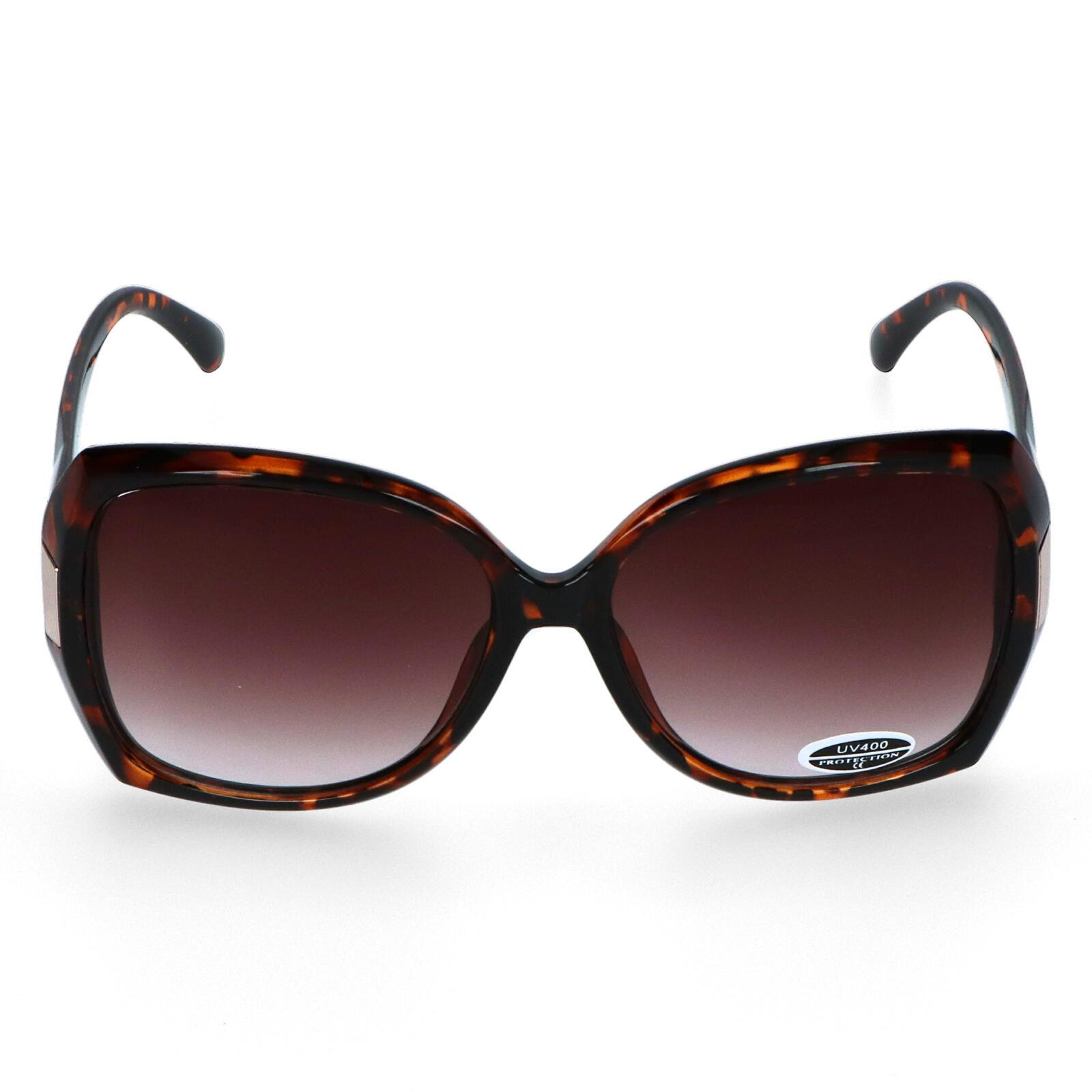 Dámské sluneční brýle hnědé - S5803
