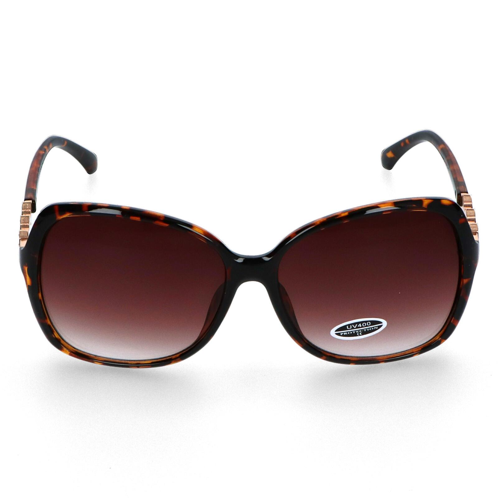 Dámské sluneční brýle hnědé - S1505