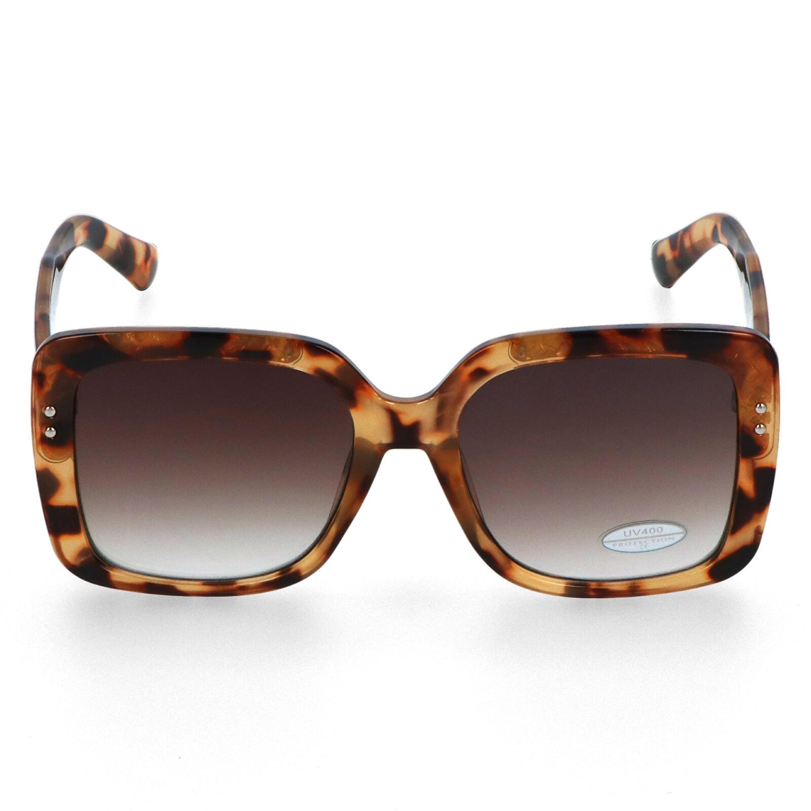 Dámské sluneční brýle hnědé - S3212