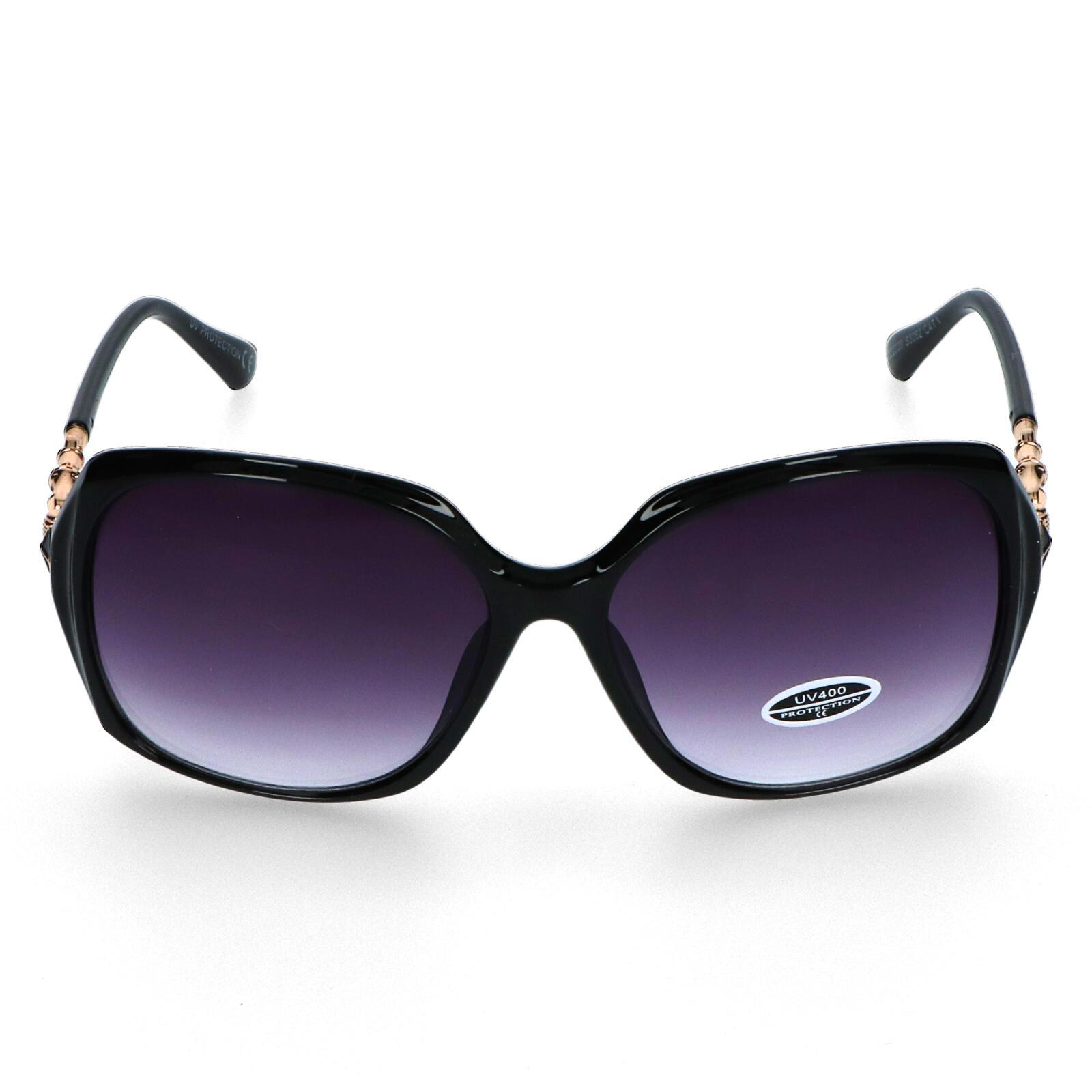 Dámské sluneční brýle černé - S2605