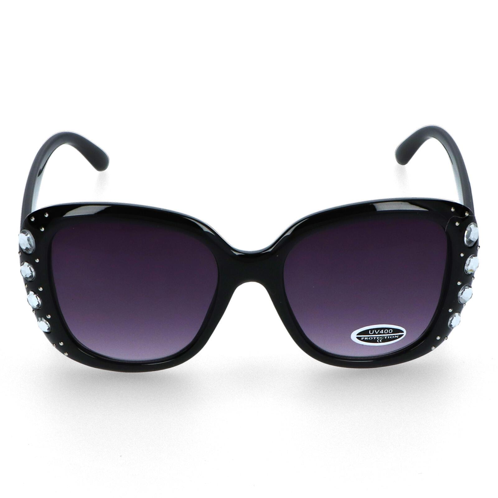 Dámské sluneční brýle černé - S7304