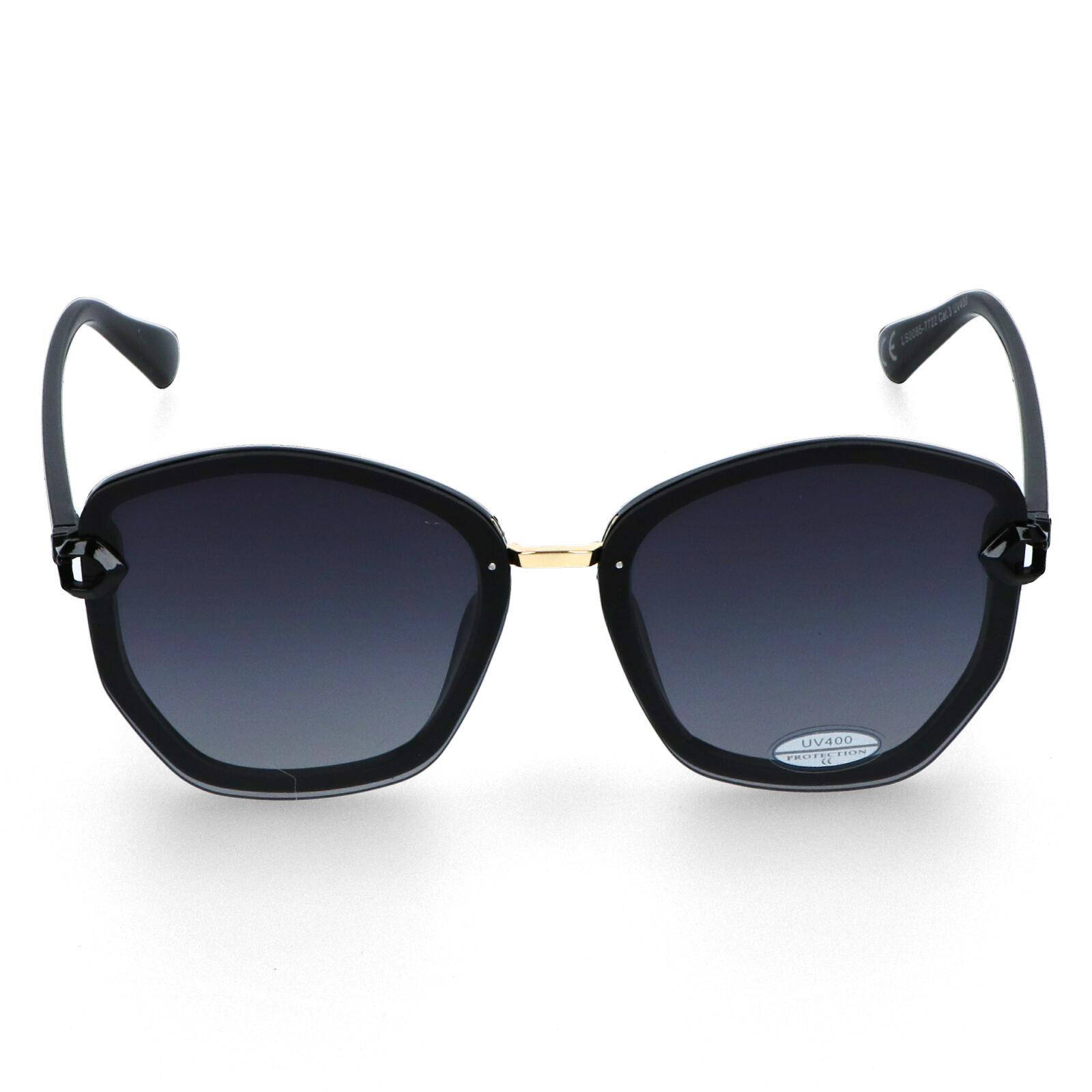 Dámské sluneční brýle černé - LS58