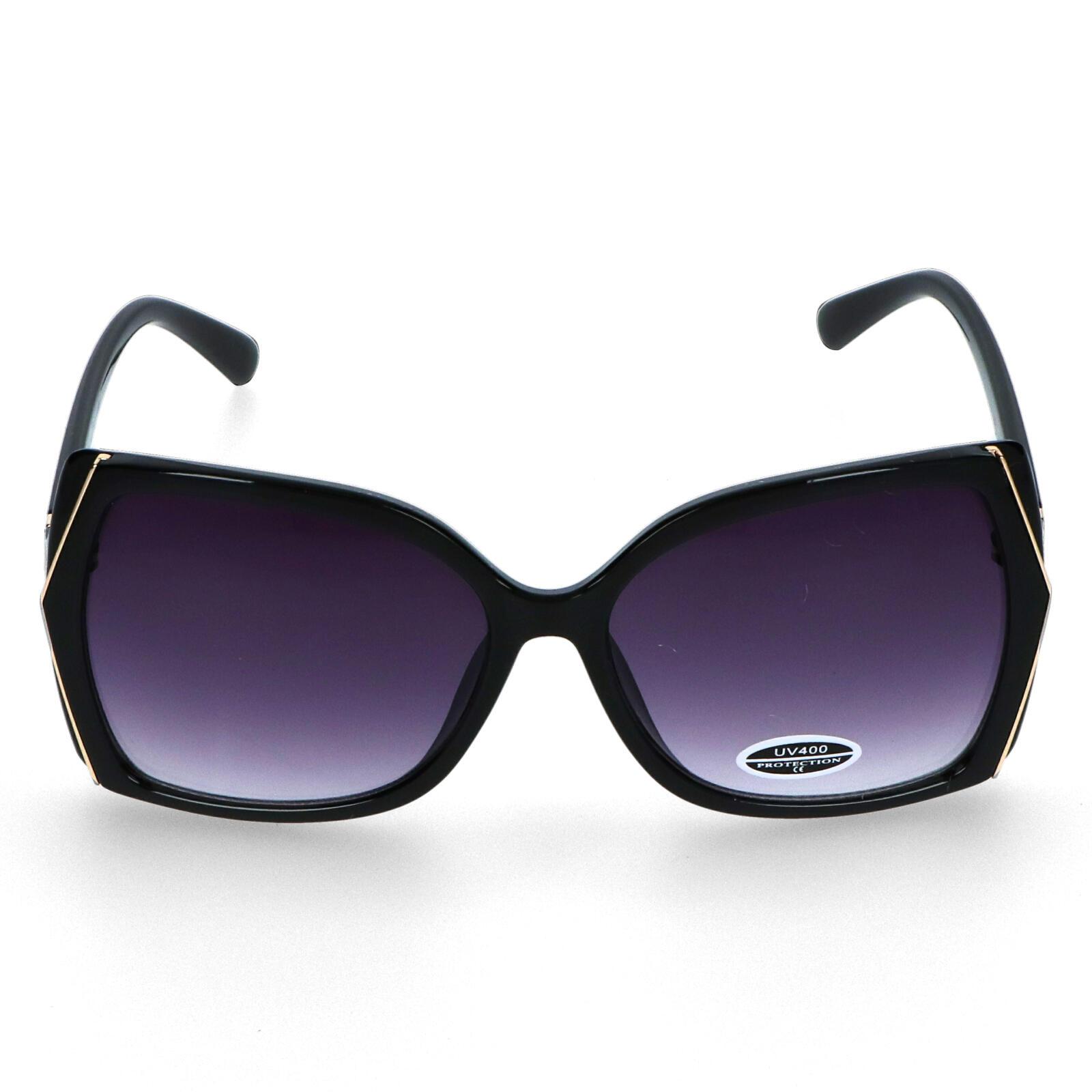 Dámské sluneční brýle černé - S6505