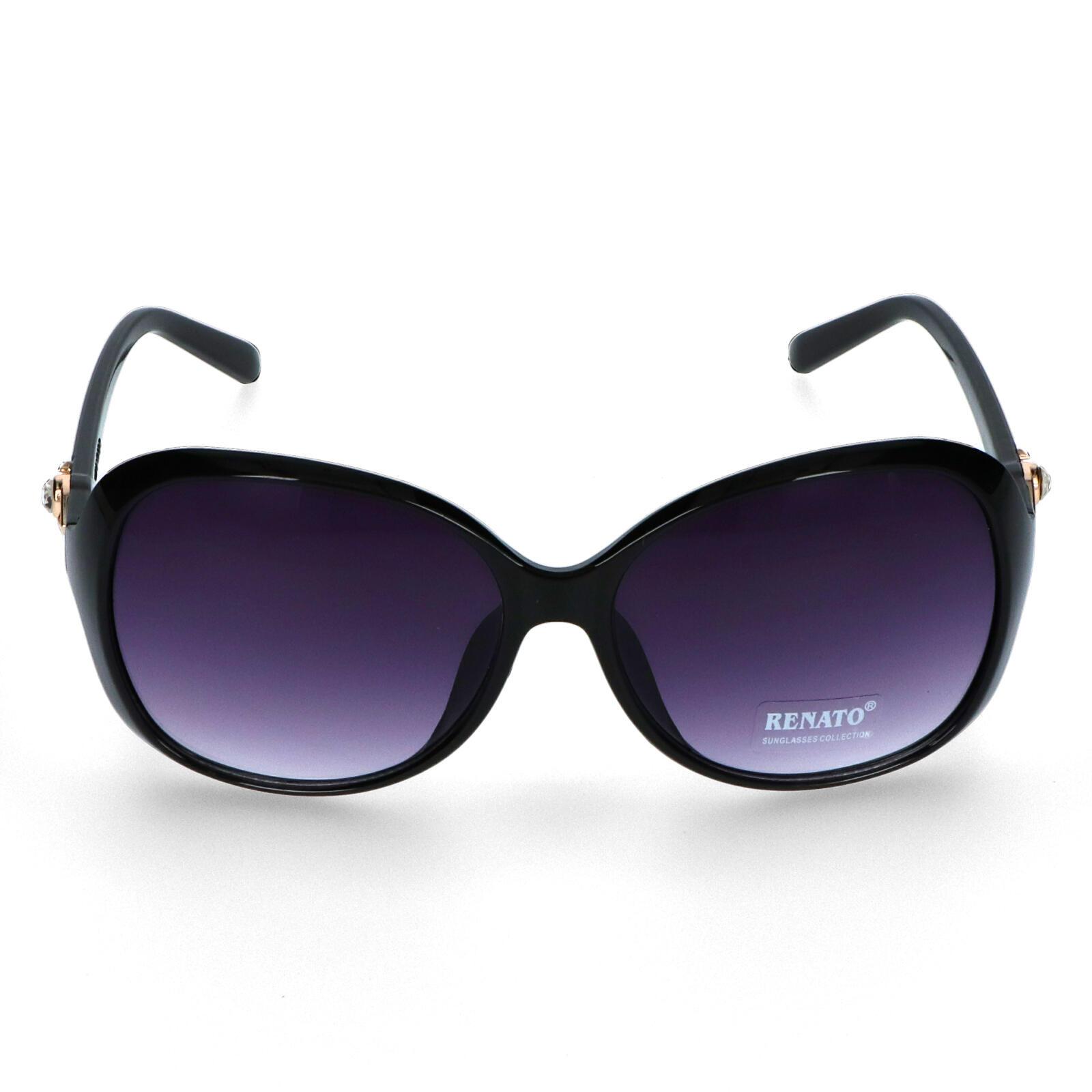 Dámské sluneční brýle černé - I213