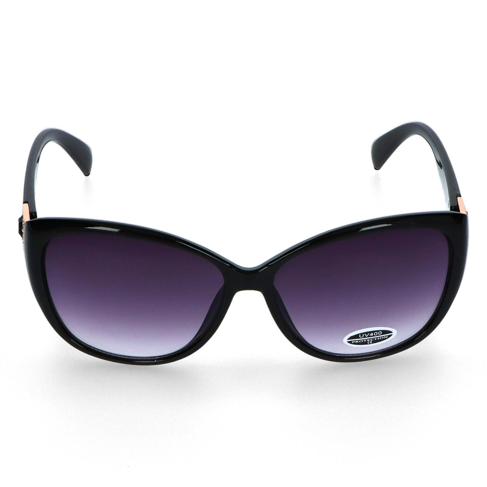 Dámské sluneční brýle černé - CAT805