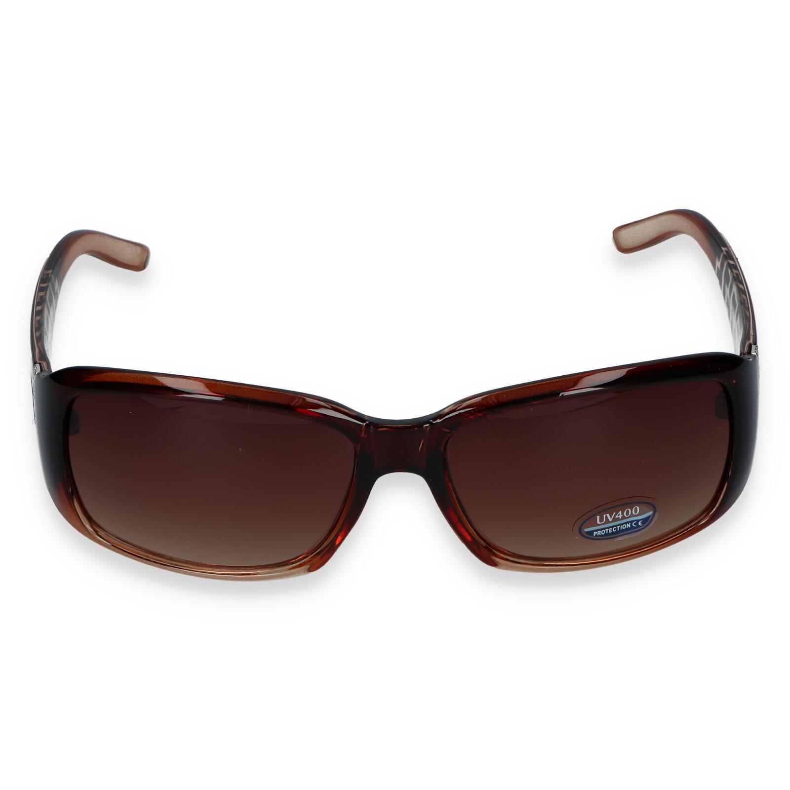 Dámské sluneční brýle hnědé - SM08