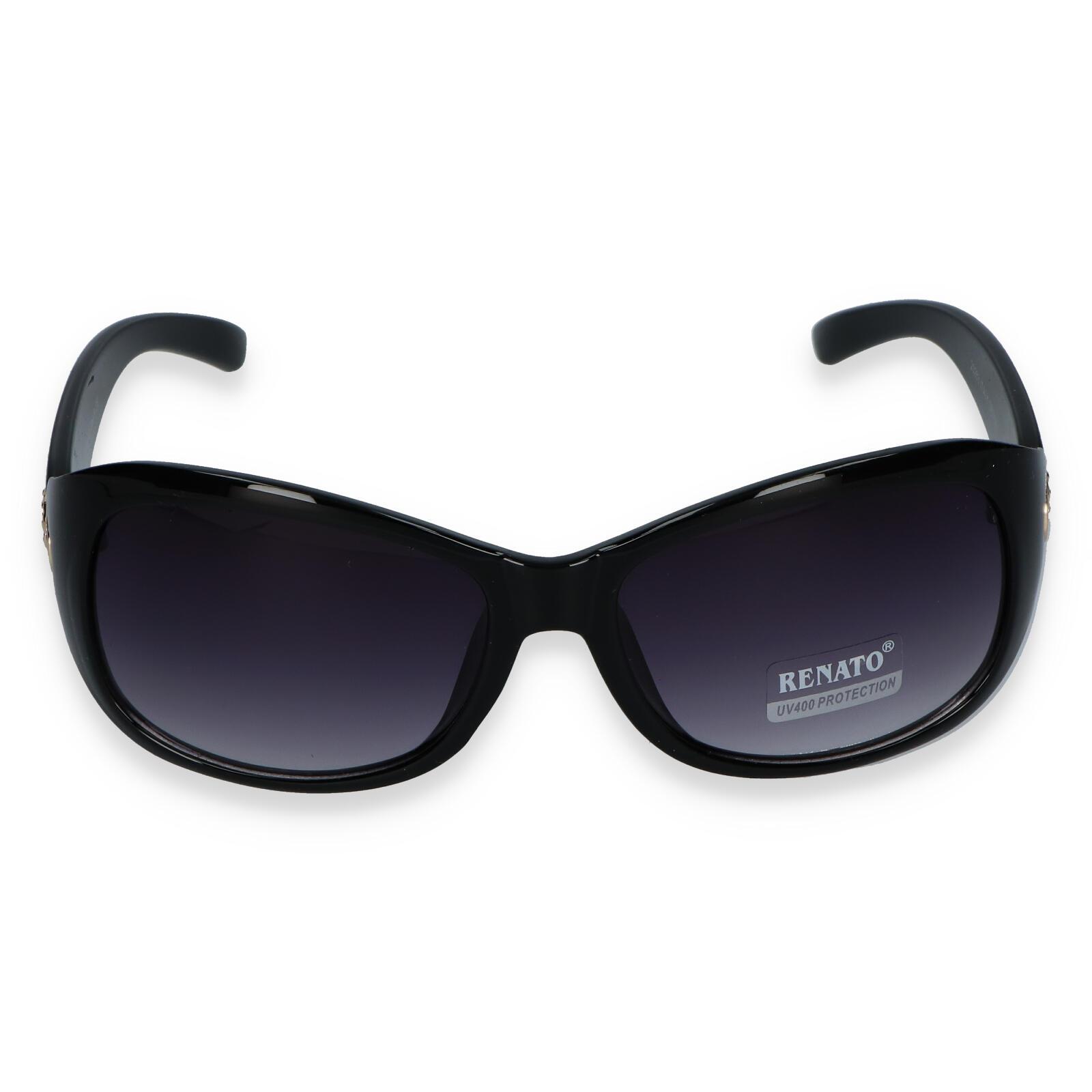 Dámské sluneční brýle černé - R362