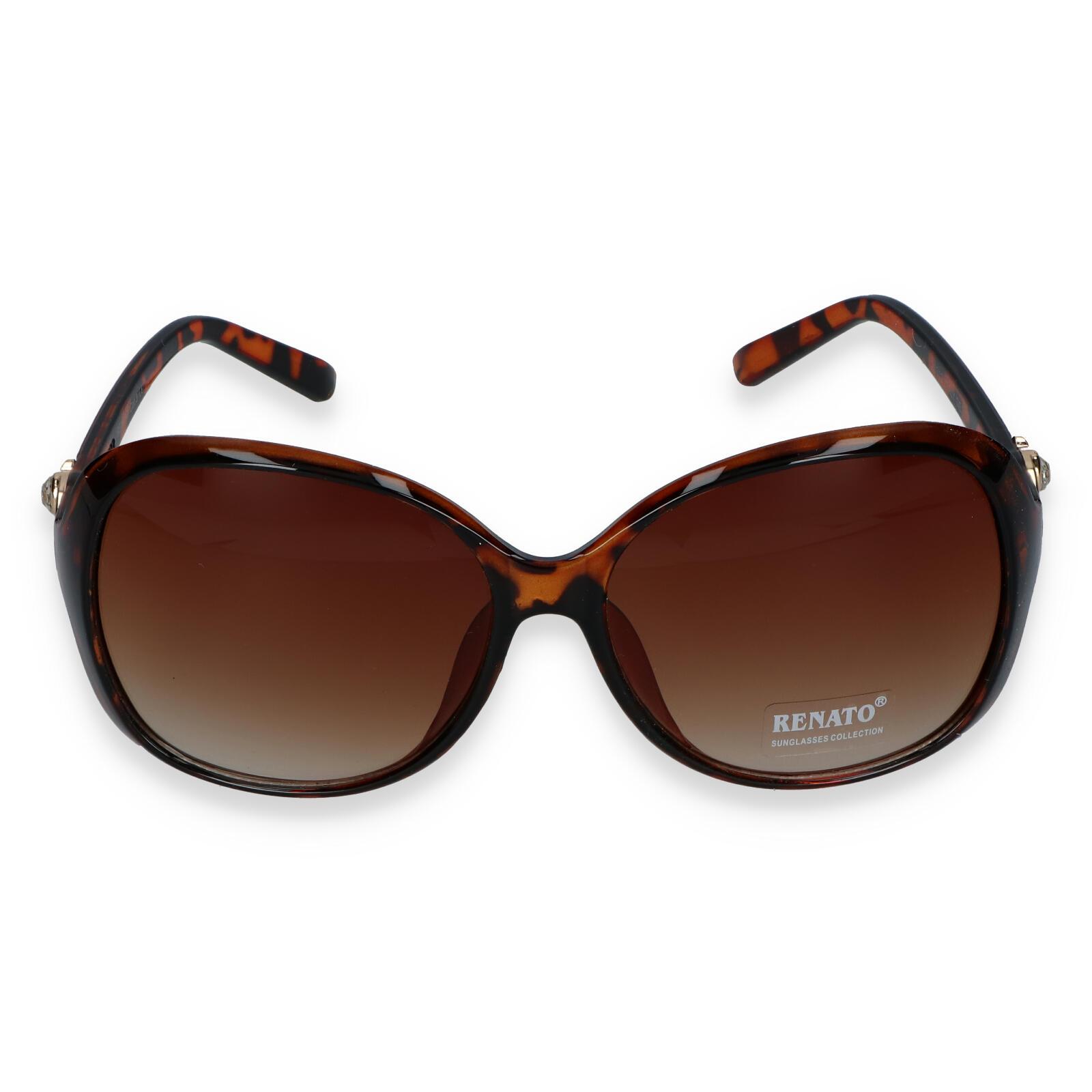 Dámské sluneční brýle hnědé - I213
