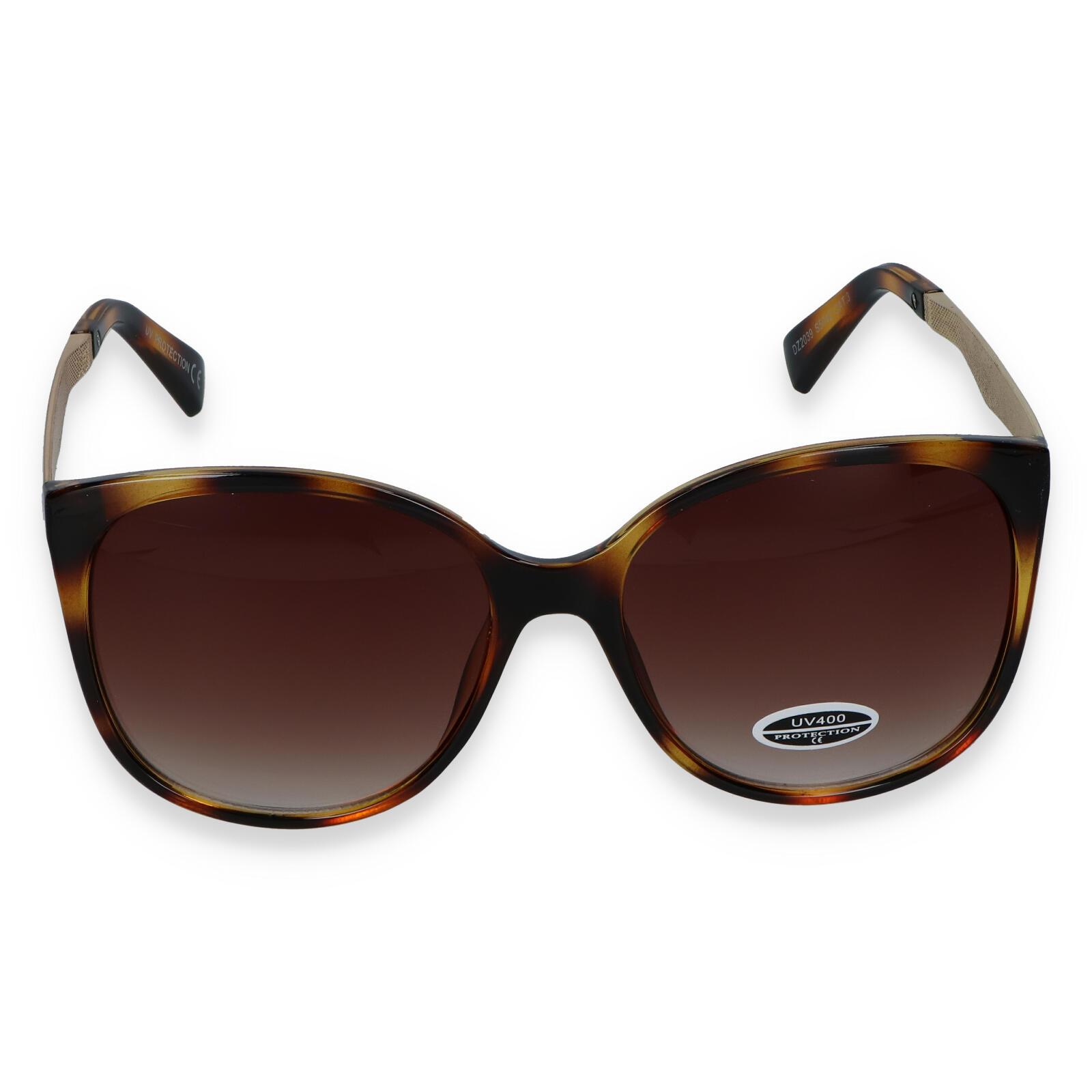 Dámské sluneční brýle hnědé - S2405