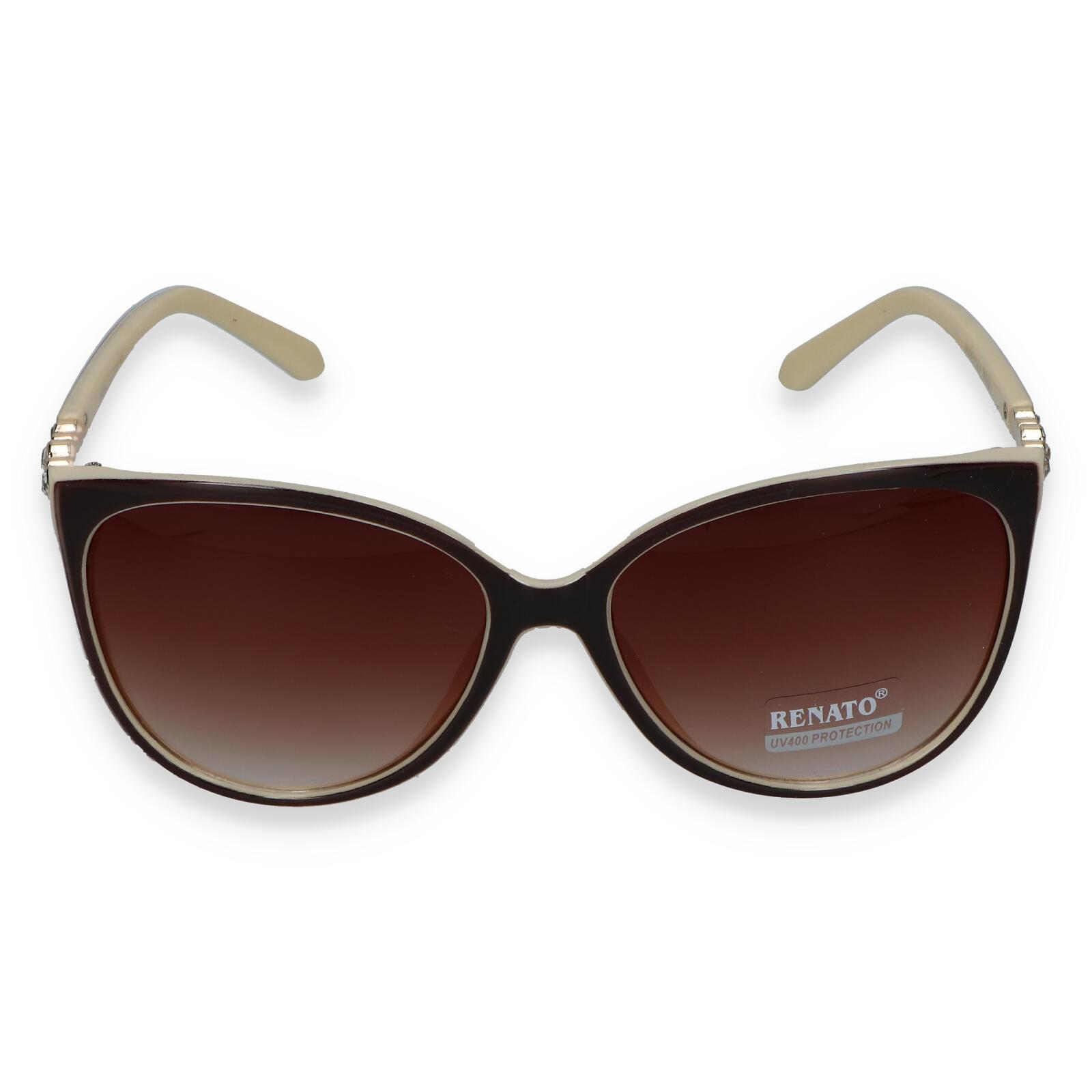 Dámské sluneční brýle béžovo hnědé - LUX232