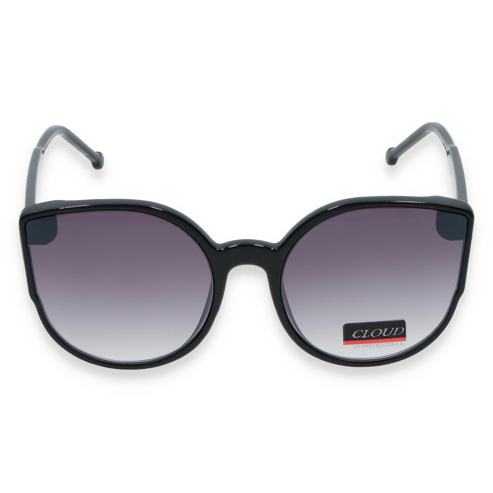 Dámské sluneční brýle černé - CAT8086