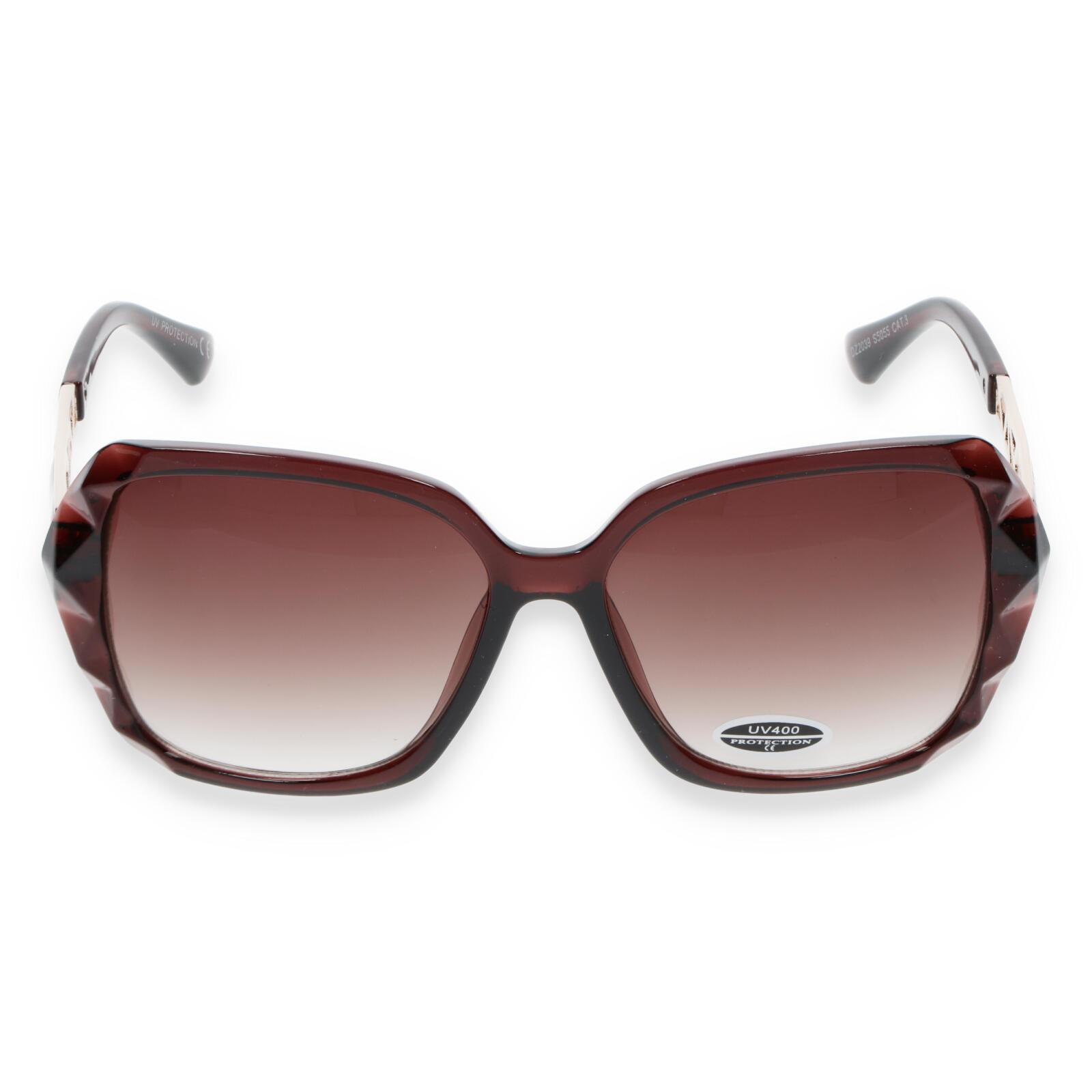 Dámské sluneční brýle jantarové - S5505