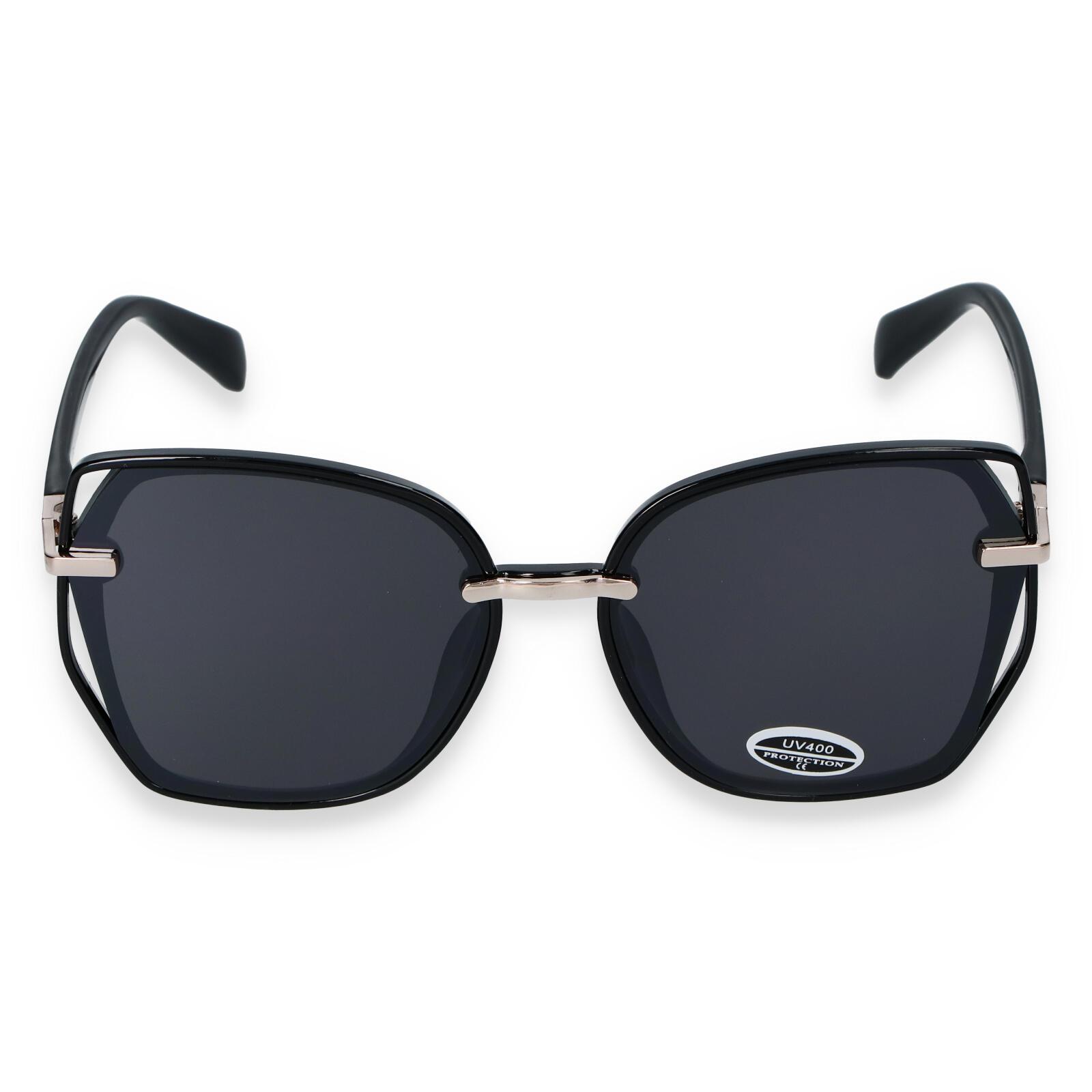 Dámské sluneční brýle černé - CAT111