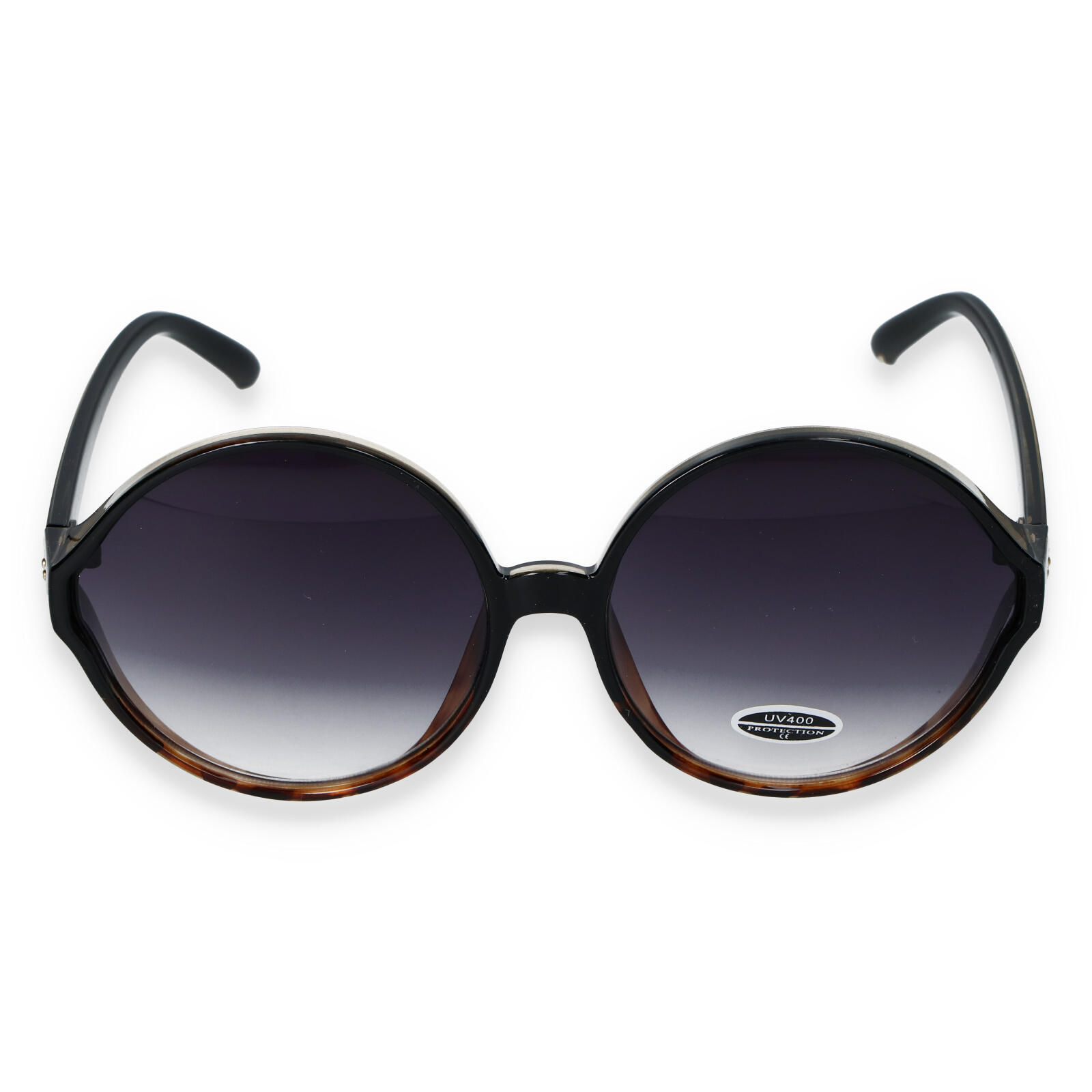 Dámské sluneční brýle černo hnědé - S9505