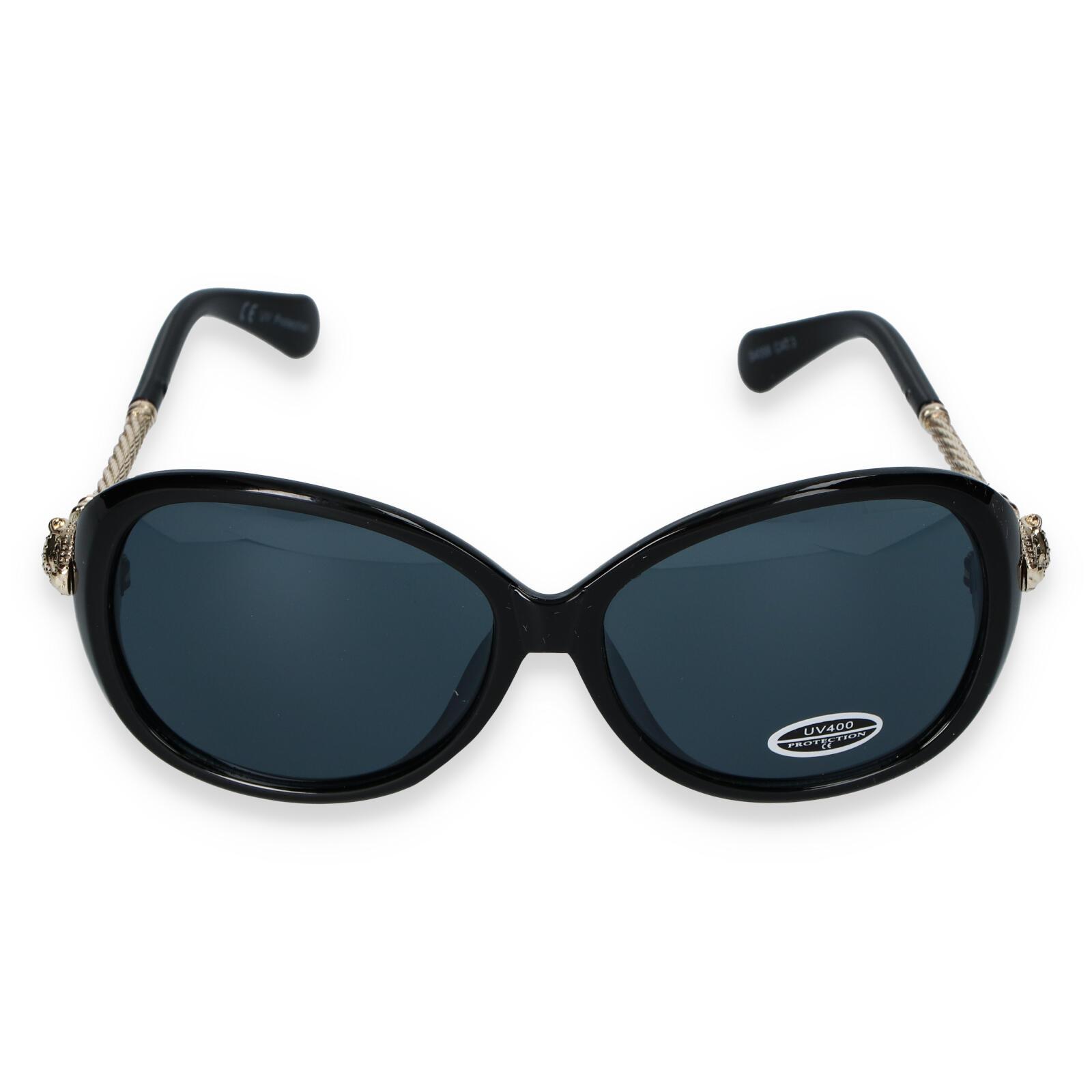 Dámské sluneční brýle černé - S8504