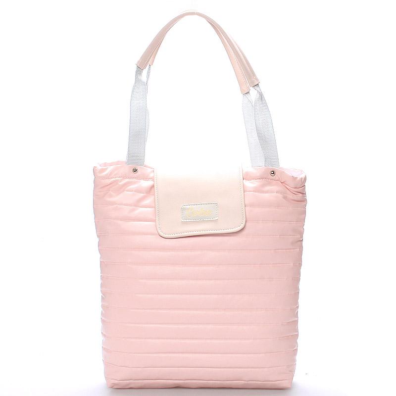 Dámská originální kabelka růžová - Carine Wichita