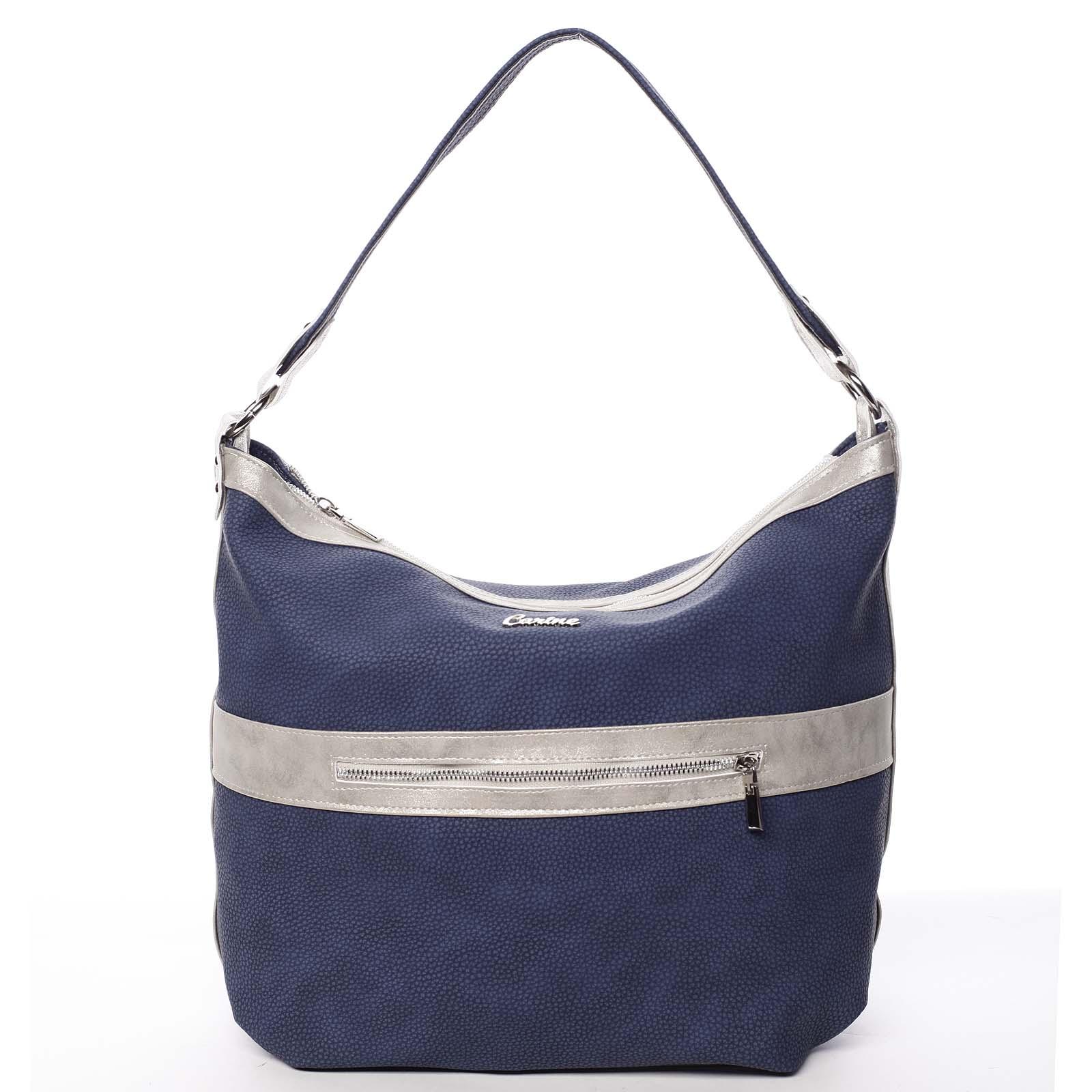 Trendy dámská kabelka tmavě modrá - Carine Taryn