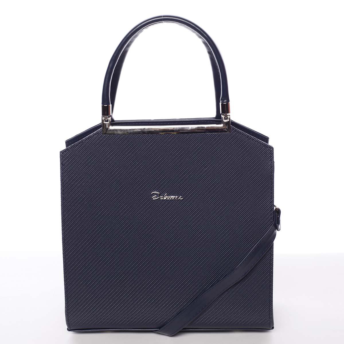 Originální dámská kabelka do ruky tmavě modrá - Delami Chereen