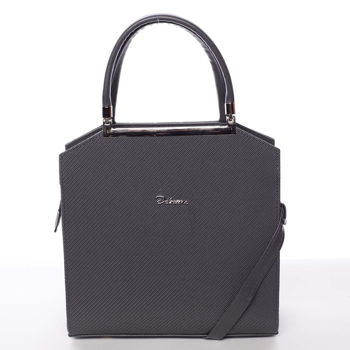 Originální dámská kabelka do ruky šedá - Delami Chereen