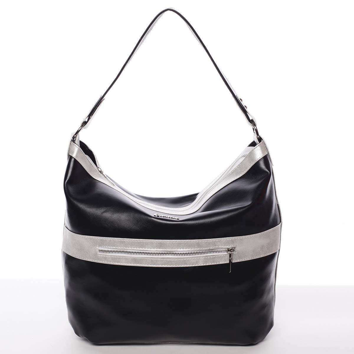 Trendy dámská kabelka černá - Carine Taryn