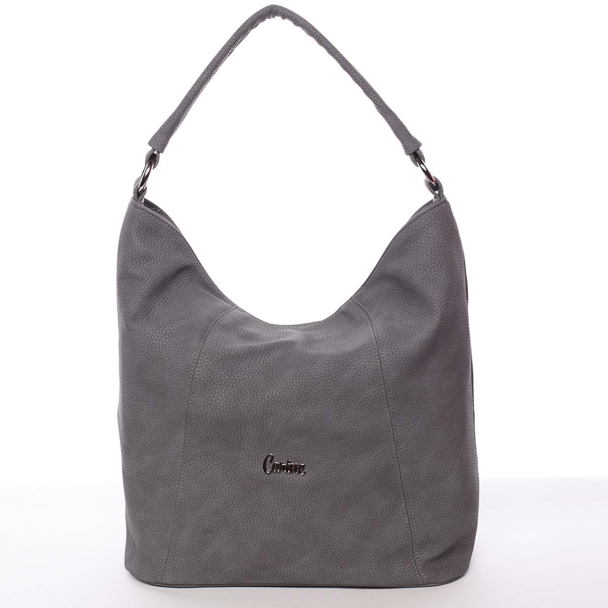 Módní dámská kabelka šedá - Carine Baylee