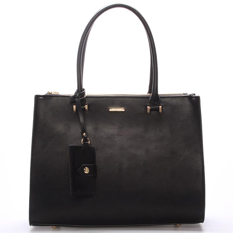 Luxusní dámská kabelka černá - David Jones Nevada