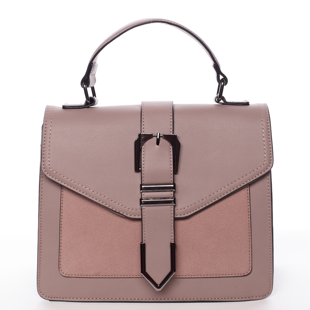Nadčasová dámská kabelka do ruky růžová - MARIA C Justice