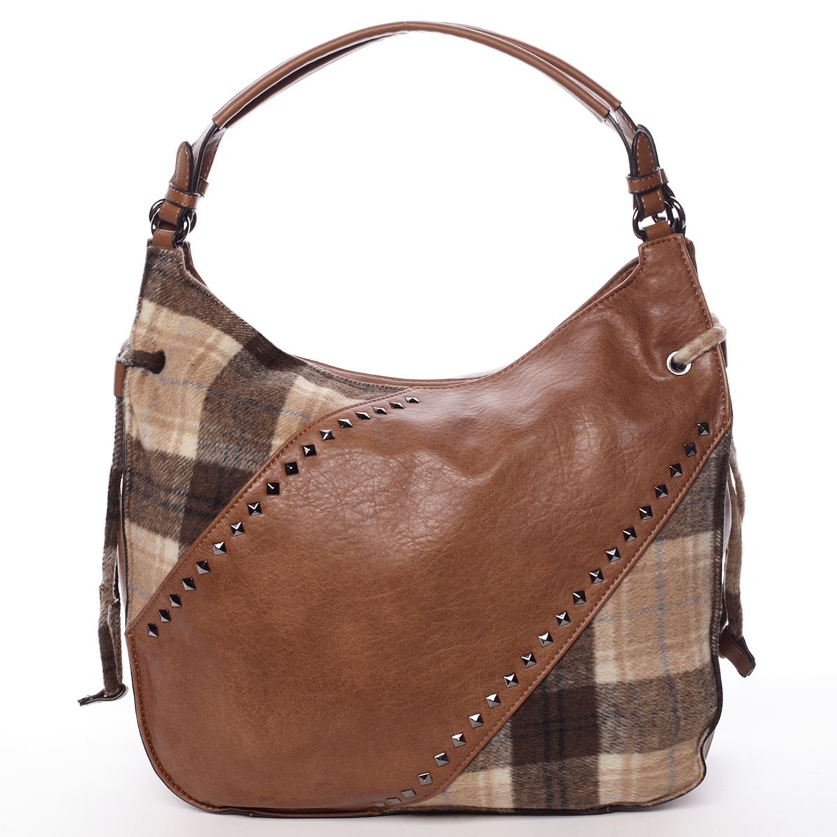 Moderní dámská kabelka hnědá - MARIA C Sarai