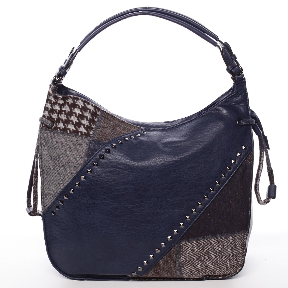 Moderní dámská kabelka modrá - MARIA C Sarai