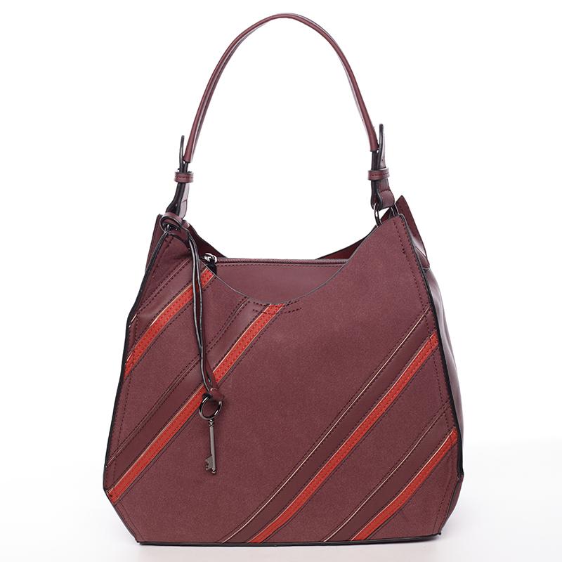 Originální dámská kabelka červená - MARIA C Raegan
