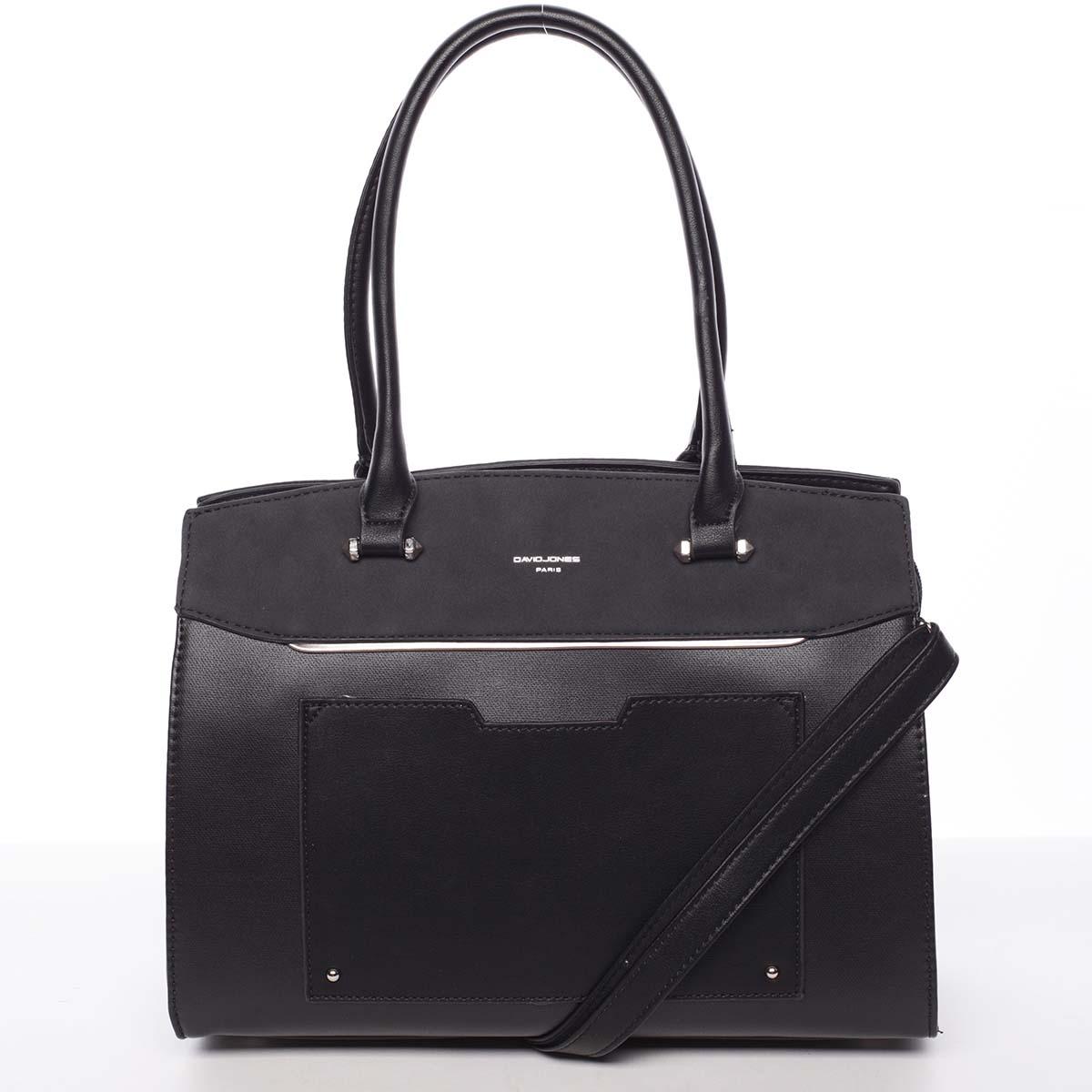 Jedinečná dámská černá kabelka - David Jones Hazel
