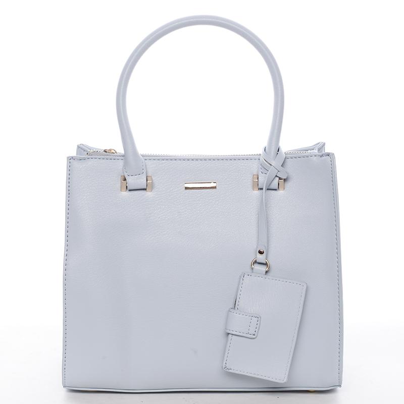 Elegantní dámská kabelka do ruky modrá - David Jones Halette