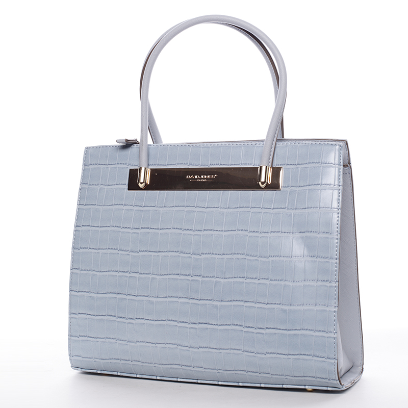 Trendy dámská kabelka do ruky modrá - David Jones Chantelle