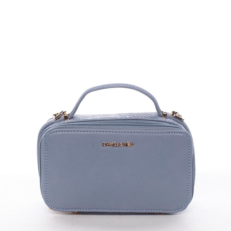 Originální dámská crossbody kabelka modrá - David Jones Allyson