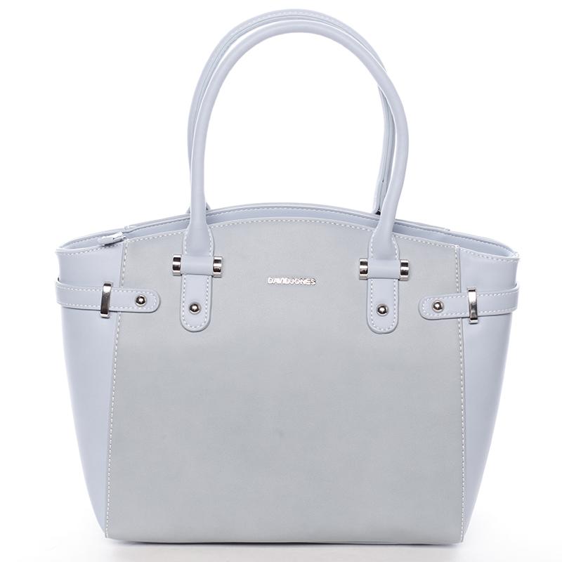 Elegantní dámská kabelka do ruky modrá - David Jones Eulalie