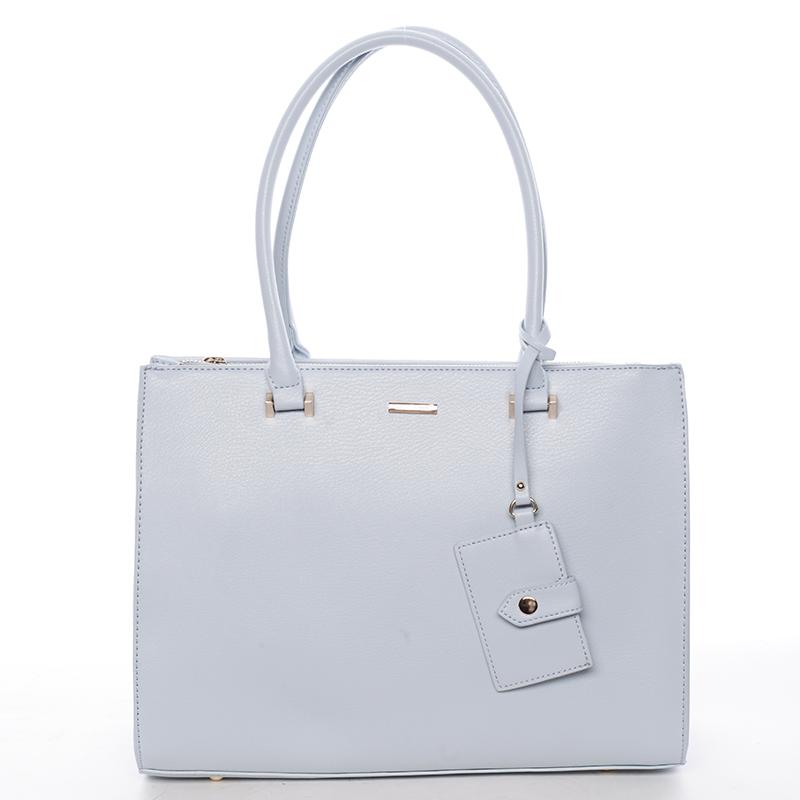 Módní dámská kabelka do ruky světle modrá - David Jones Aiglentina