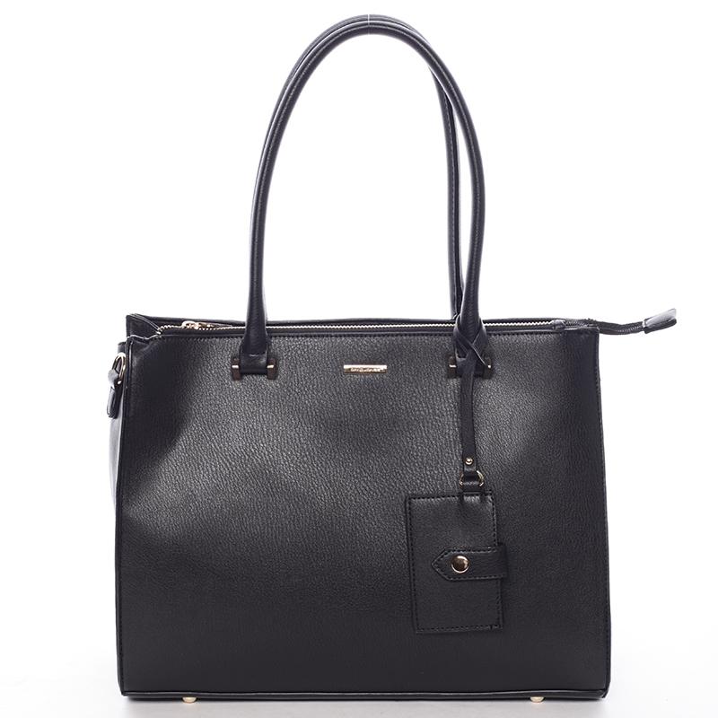 Módní dámská kabelka do ruky černá - David Jones Aiglentina