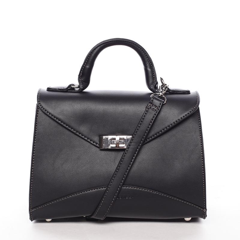 Luxusní dámská kabelka do ruky černá - David Jones Wakus
