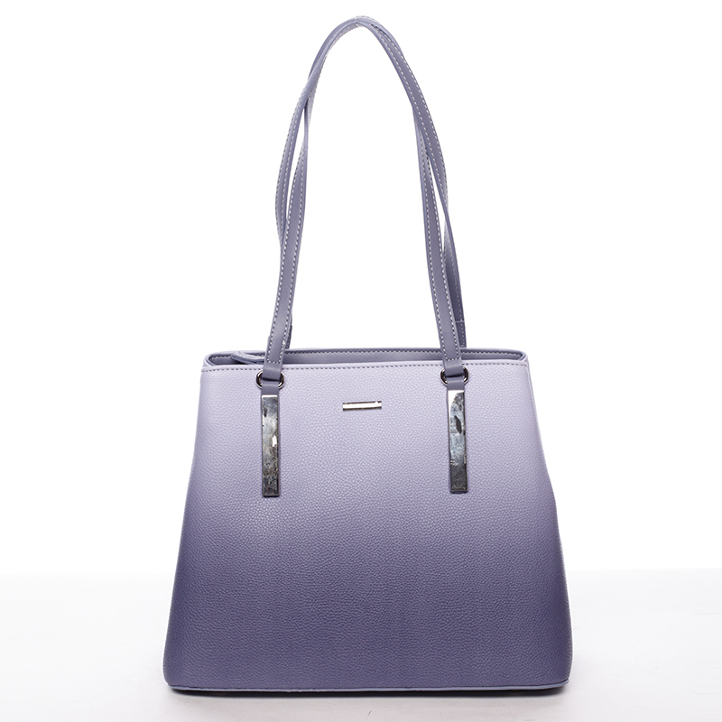 Elegantní dámská kabelka přes rameno modrá - David Jones Ciénes