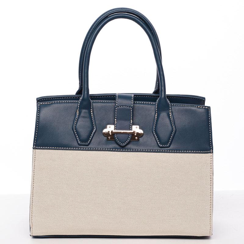 Dámská elegantní kabelka modrá - David Jones Elicia